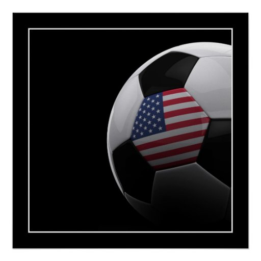 Fútbol en los E.E.U.U. - POSTER Póster