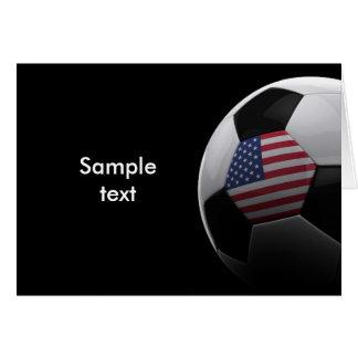 Fútbol en los E.E.U.U. Tarjeta