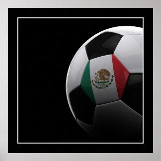 Fútbol en México - POSTER
