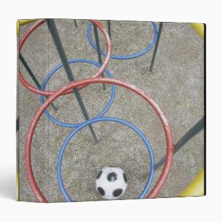 "Fútbol en patio carpeta 1 1/2"""
