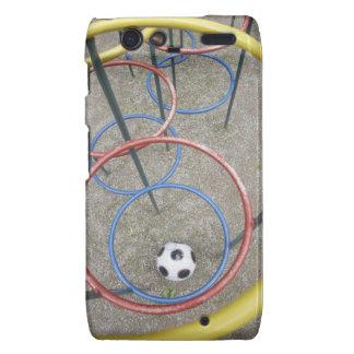 Fútbol en patio motorola droid RAZR fundas