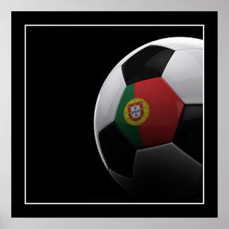 Fútbol en Portugal - POSTER