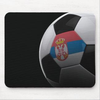 Fútbol en Serbia Alfombrilla De Ratón