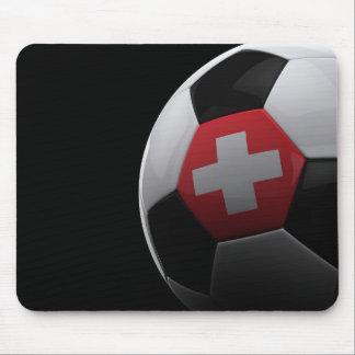 Fútbol en Suiza Alfombrillas De Ratones