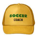 Fútbol en verde gorras de camionero