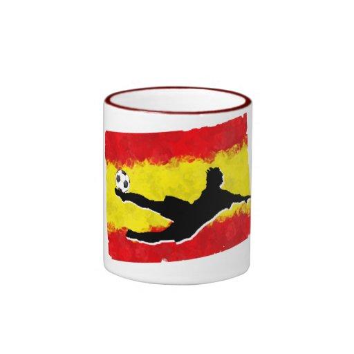 Fútbol-España Taza A Dos Colores