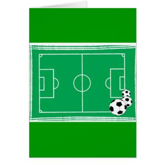 fútbol-estadio tarjeta