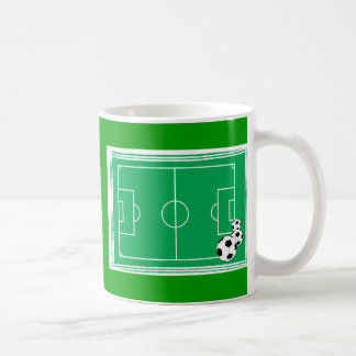 fútbol-estadio taza de café