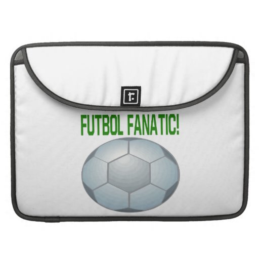 Futbol Fanatic MacBook Pro Sleeves
