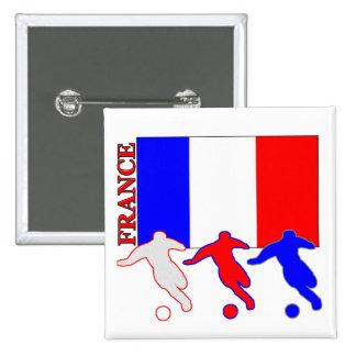 Fútbol Francia Pins