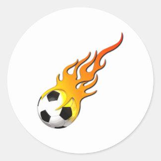 Fútbol fuego llama soccer concentras fire flames