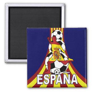 Fútbol Fútbol de Espana España Imanes Para Frigoríficos