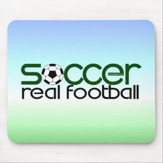 Fútbol = fútbol real tapete de ratones