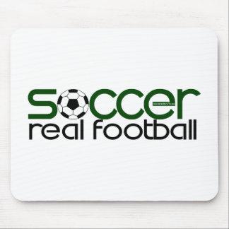 Fútbol = fútbol real tapetes de raton