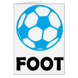 Fútbol/fútbol Tarjeta De Felicitación
