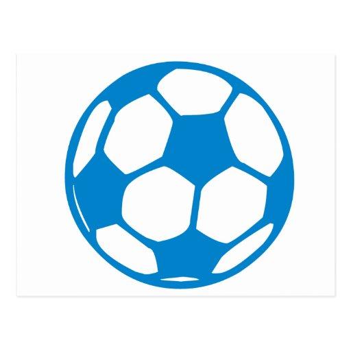 Fútbol/fútbol Tarjeta Postal