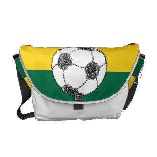 Fútbol, Ghana Bolsa De Mensajeria