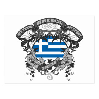 Fútbol Grecia Tarjetas Postales