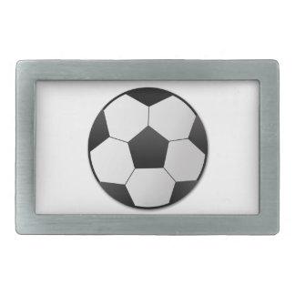 Fútbol Hebillas De Cinturón Rectangulares