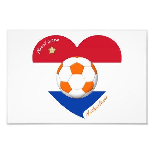 "Fútbol Holanda  ""NETHERLANDS"" soccer national team Impresiones Fotograficas"
