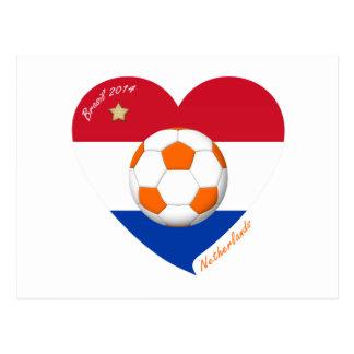 """Fútbol Holanda  """"NETHERLANDS"""" soccer national team Tarjetas Postales"""