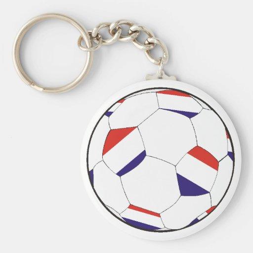 Fútbol Holanda Países Baja Llavero Redondo Tipo Pin