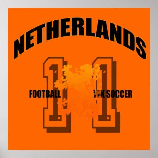 Fútbol holandés de la semana del fútbol ningunos 1 póster
