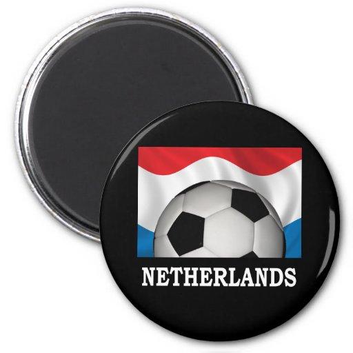 Fútbol holandés imán para frigorifico