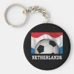 Fútbol holandés llavero