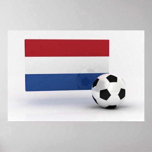 Fútbol holandés poster