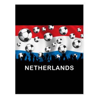 Fútbol holandés postal
