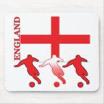 Fútbol Inglaterra Mousepad Tapetes De Raton