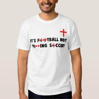 Fútbol inglés poleras