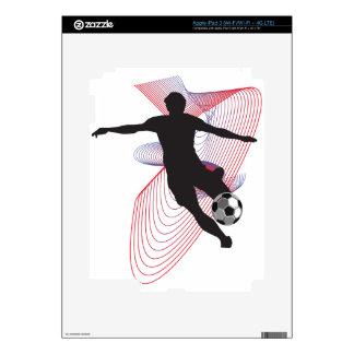 Fútbol iPad 3 Pegatinas Skins