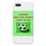 fútbol iPhone 5 cárcasa