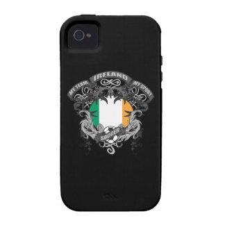 Fútbol Irlanda iPhone 4/4S Carcasa