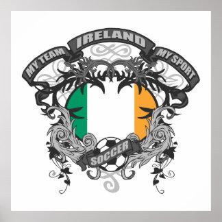 Fútbol Irlanda Posters