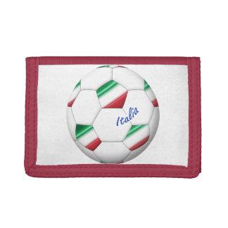 FÚTBOL ITALIA balón y bandera del equipo nacional