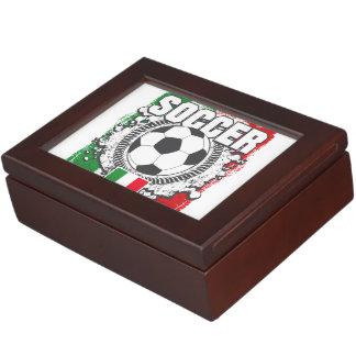 Fútbol Italia Caja De Recuerdos