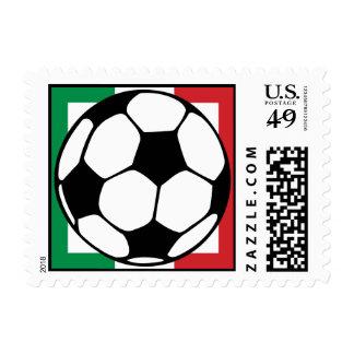 futbol. italia square. postage