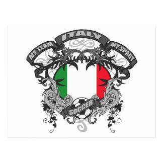 Fútbol Italia Tarjeta Postal