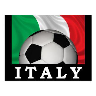 Fútbol italiano tarjetas postales