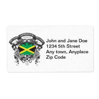 Fútbol Jamaica Etiquetas De Envío