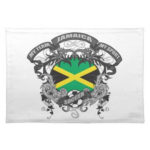 Fútbol Jamaica Mantel
