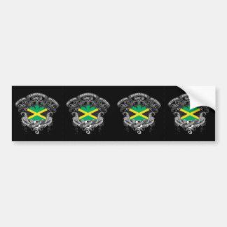 Fútbol Jamaica Pegatina Para Auto