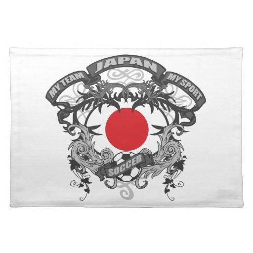 Fútbol Japón Mantel Individual