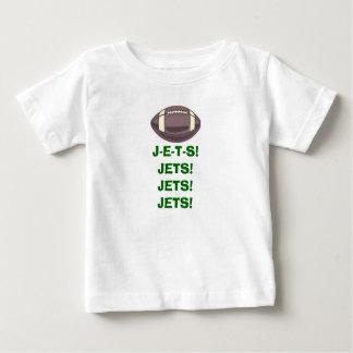 ¡fútbol, JETS! ¡JETS! ¡JETS! ¡JETS! Playera De Bebé