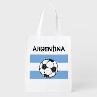 Fútbol, la Argentina Bolsas Reutilizables