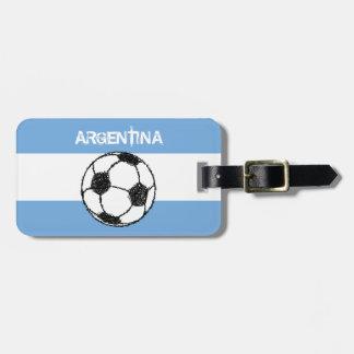 Fútbol, la Argentina Etiquetas Bolsa