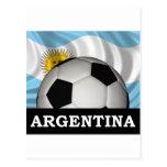 Fútbol la Argentina Postal